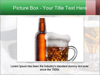 Two glasses of beer PowerPoint Template - Slide 16