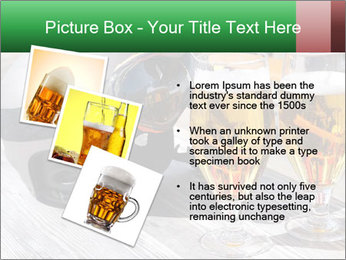 Two glasses of beer PowerPoint Template - Slide 17