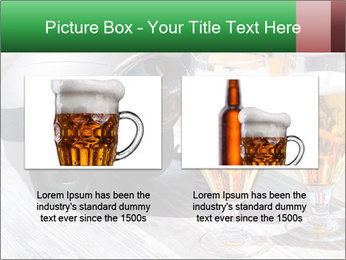 Two glasses of beer PowerPoint Template - Slide 18