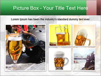 Two glasses of beer PowerPoint Template - Slide 19