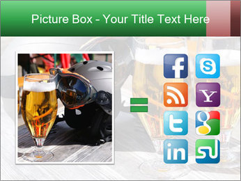 Two glasses of beer PowerPoint Template - Slide 21