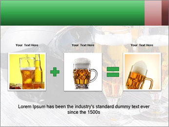 Two glasses of beer PowerPoint Template - Slide 22