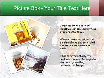 Two glasses of beer PowerPoint Template - Slide 23