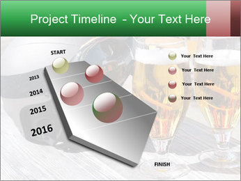 Two glasses of beer PowerPoint Template - Slide 26