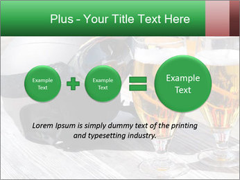 Two glasses of beer PowerPoint Template - Slide 75