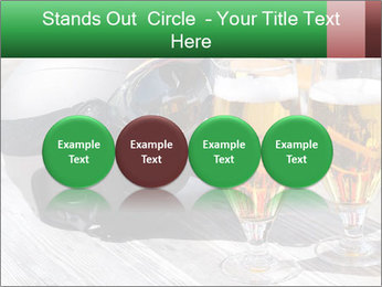Two glasses of beer PowerPoint Template - Slide 76