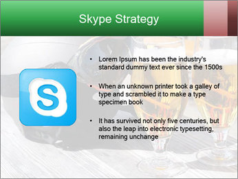 Two glasses of beer PowerPoint Template - Slide 8