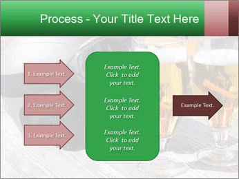 Two glasses of beer PowerPoint Template - Slide 85