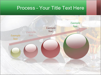 Two glasses of beer PowerPoint Template - Slide 87