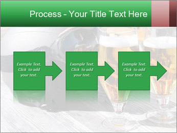 Two glasses of beer PowerPoint Template - Slide 88