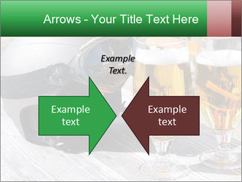 Two glasses of beer PowerPoint Template - Slide 90
