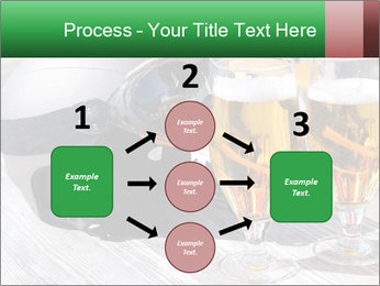 Two glasses of beer PowerPoint Template - Slide 92