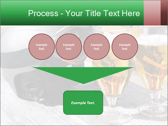 Two glasses of beer PowerPoint Template - Slide 93