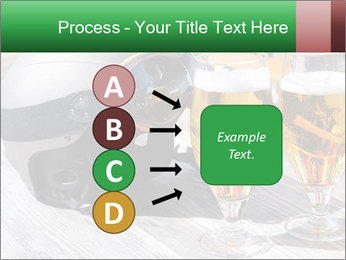 Two glasses of beer PowerPoint Template - Slide 94