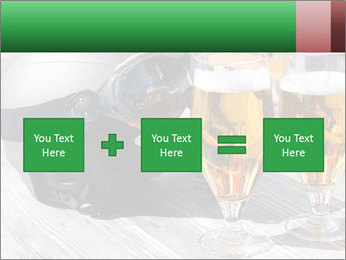 Two glasses of beer PowerPoint Template - Slide 95