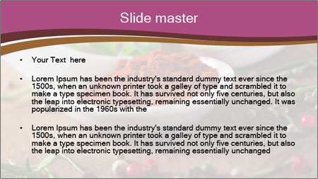 Spices PowerPoint Template - Slide 2