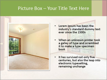 Empty white room PowerPoint Templates - Slide 13