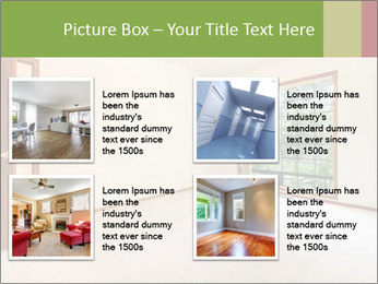 Empty white room PowerPoint Templates - Slide 14