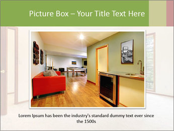Empty white room PowerPoint Templates - Slide 15