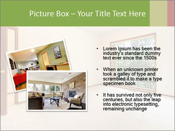 Empty white room PowerPoint Templates - Slide 20
