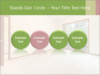 Empty white room PowerPoint Templates - Slide 76