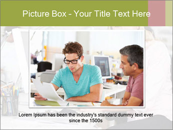 Woman Working At Desk PowerPoint Templates - Slide 15