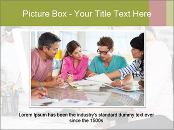 Woman Working At Desk PowerPoint Templates - Slide 16