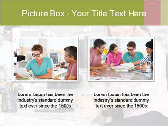 Woman Working At Desk PowerPoint Templates - Slide 18