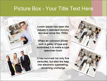 Woman Working At Desk PowerPoint Templates - Slide 24