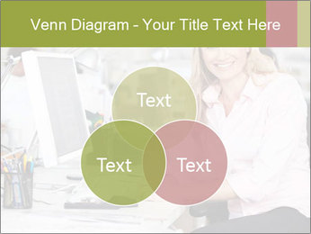 Woman Working At Desk PowerPoint Templates - Slide 33