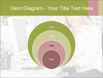 Woman Working At Desk PowerPoint Templates - Slide 34