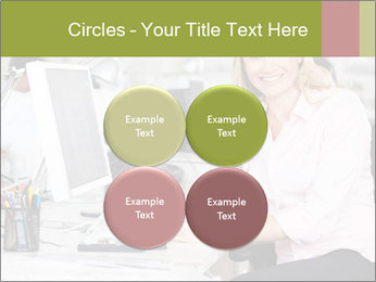 Woman Working At Desk PowerPoint Templates - Slide 38