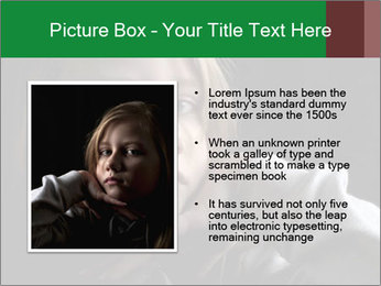 Victim of child abuse PowerPoint Template - Slide 13