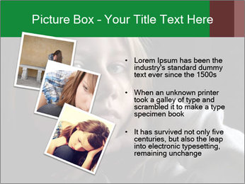 Victim of child abuse PowerPoint Template - Slide 17