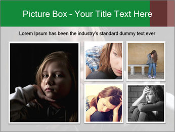 Victim of child abuse PowerPoint Template - Slide 19