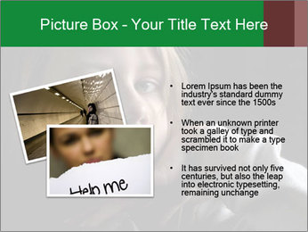 Victim of child abuse PowerPoint Template - Slide 20