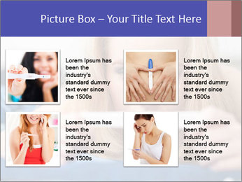 Beautiful young woman PowerPoint Templates - Slide 14