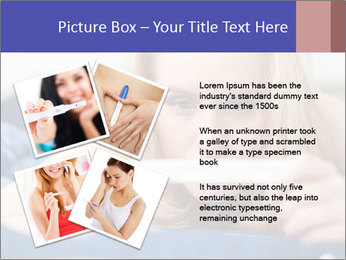 Beautiful young woman PowerPoint Templates - Slide 23