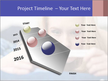 Beautiful young woman PowerPoint Templates - Slide 26