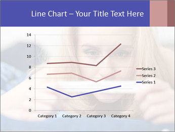 Beautiful young woman PowerPoint Template - Slide 54