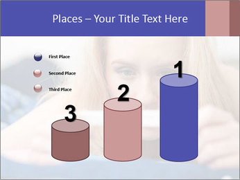 Beautiful young woman PowerPoint Template - Slide 65