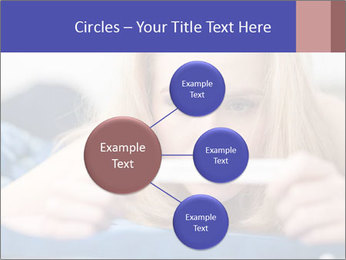 Beautiful young woman PowerPoint Templates - Slide 79