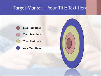Beautiful young woman PowerPoint Template - Slide 84