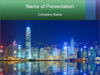 Hong Kong Island PowerPoint Templates - Slide 1