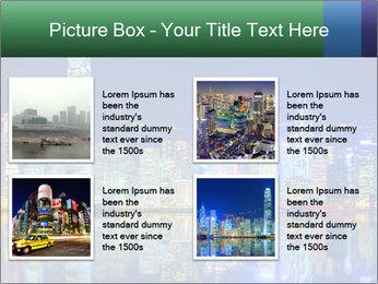 Hong Kong Island PowerPoint Templates - Slide 14
