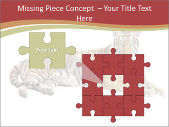 Tiger PowerPoint Template - Slide 45