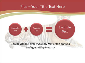 Tiger PowerPoint Template - Slide 75