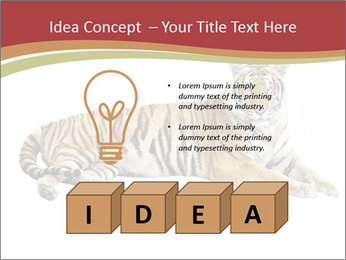 Tiger PowerPoint Template - Slide 80