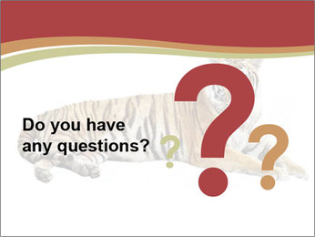 Tiger PowerPoint Template - Slide 96