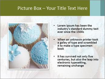 Wedding cupcakes PowerPoint Templates - Slide 13